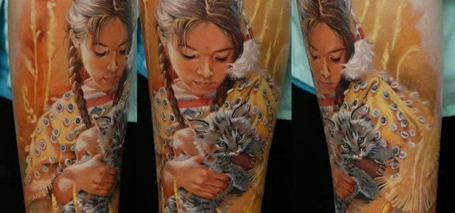 Un tatuador ucraniano que hace los tatuajes más realistas del mundo