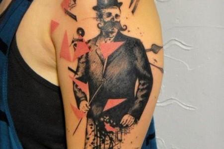 Tatuajes abstractos por Xoil