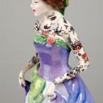 Figuras de porcelana tatuadas de Jessica Harrison