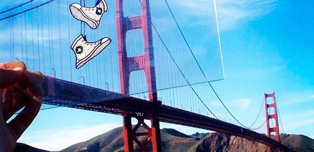 Divertidas ilustraciones superpuestas en imágenes del mundo real de Marty Cooper