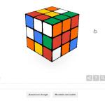 Google te reta a resolver un Cubo Rubik en el 40 aniversario de este juego