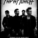 Papa Roach en México!