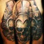 Tatuaje por Carl Grace