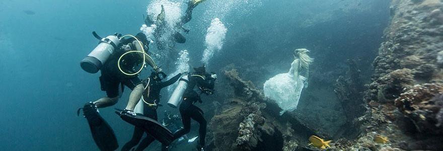 Sin Photoshop. Estas imágenes de modelos bajo el agua