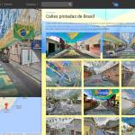 Recorre las calles de Brasil, pintadas para celebrar el Mundial.