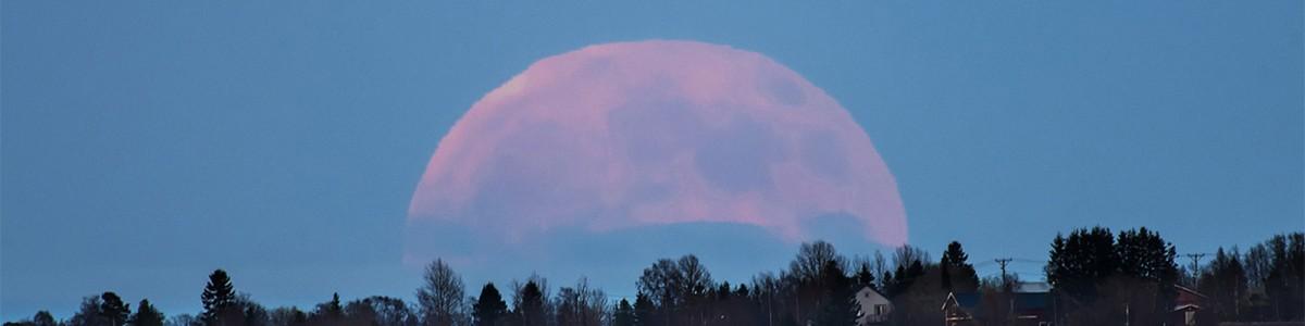 La Luna llena (y en viernes 13), como no la habías visto en 100 años