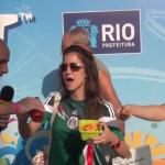Reportero brasileño falla al intentar hacer broma a mexicanos