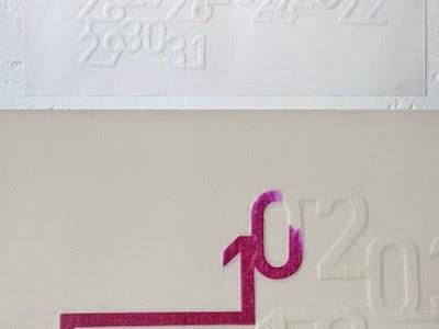 Calendario de tinta