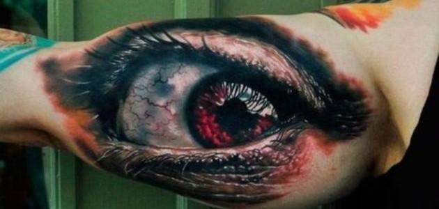 Tatuajes en 3D que desafían tu percepción