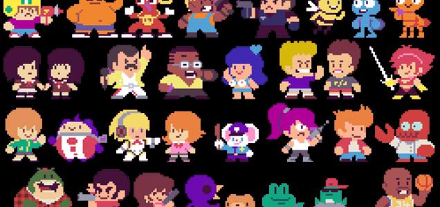 300 personajes de la cultura Pop en su versión 8-bit