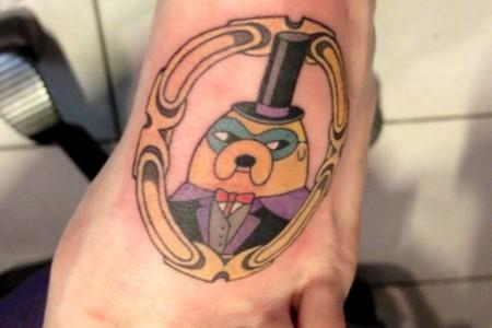Tatuajes de Hora de aventura