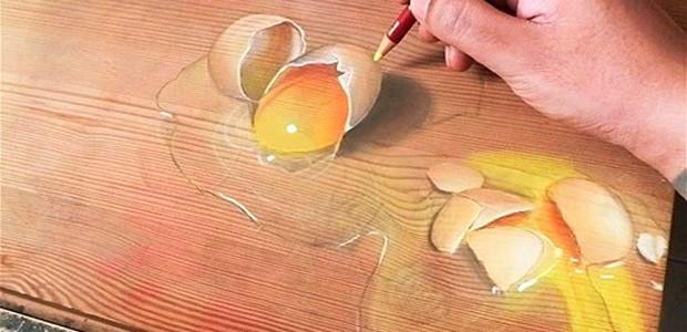 Ilustraciones ultrarrealistas pintadas sobre tablas de madera de Ivan Hoo