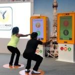 Metro y Metrobús pondrán a usuarios a hacer sentadillas