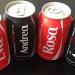 488 NOMBRES que aparecen en las latas de Coca-Cola