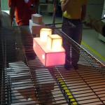 Supermaterial de la NASA que puedes tocar a 1.200 grados