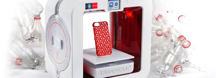 Impresora 3D que sirve para reciclar