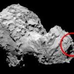 'Rostro humano' captado en cometa causa furor en la red FOTO