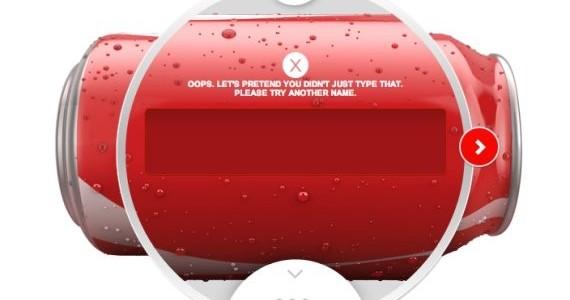 Imprime una lata de Coca-Cola con un nombre personalizado