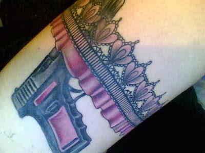 Tatuaje de liga - tatuaje portaliga - Garter tattoo 6