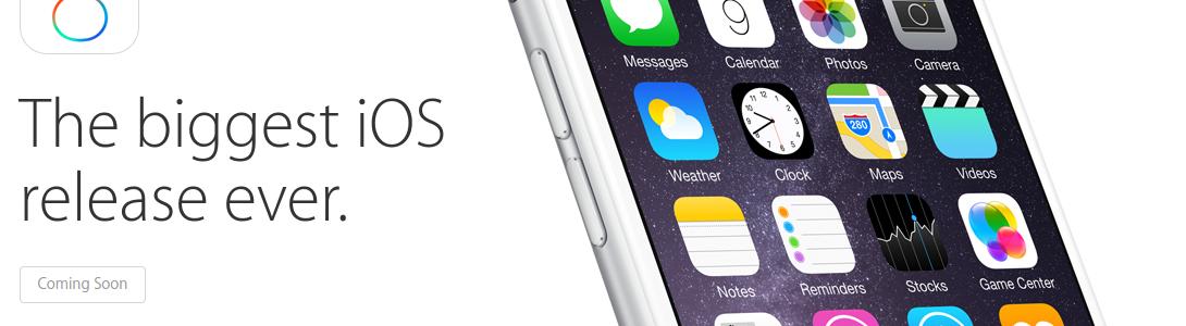 Descarga iOS 8, disponible desde el 17 de septiembre