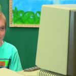 La reacción estos niños al conocer estas antigüedades de computadoras