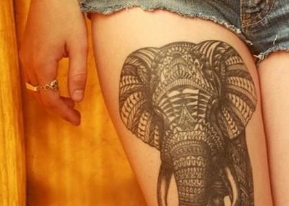 Las Piernas son lienzos perfectos para los tatuajes, imposible resistirse