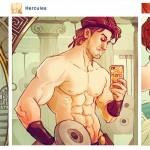 Si los personajes de Disney tuvieran Instagram