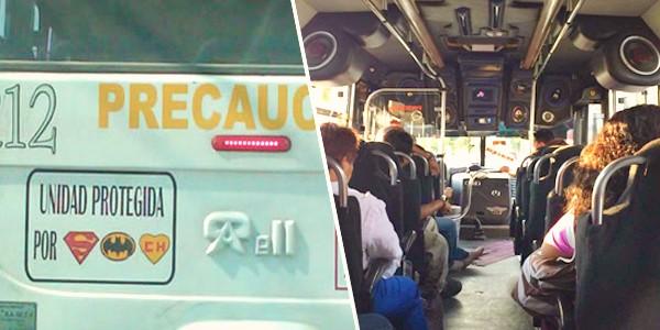 Solo en México con el transporte publico