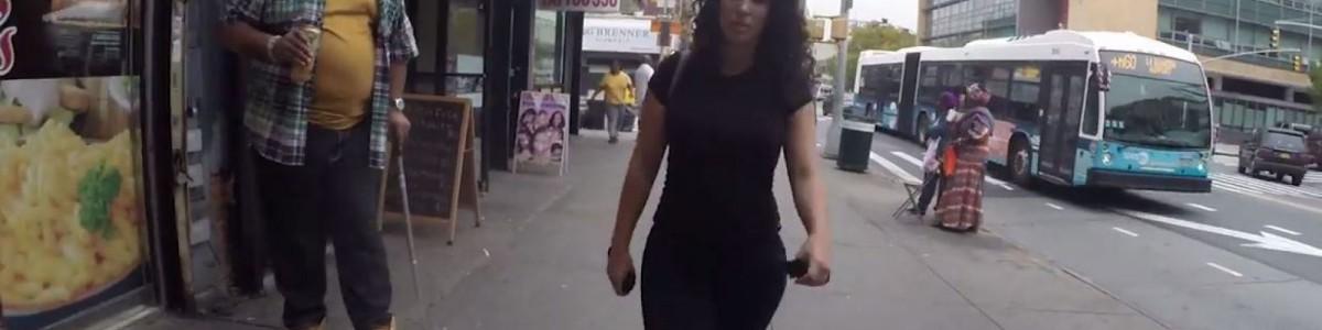 ¿Acoso o halago? Mujer se graba caminando por las calles de New York