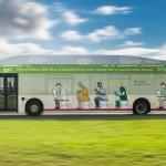 Los excrementos ahora tienen una nueva función: combustible para autobús