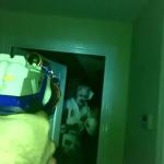 Limpiando la casa de zombies