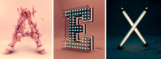 El creativo abecedario de Alexis Persani