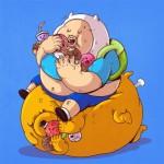 Obesidad morbida en nuestros personajes favoritos