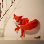 Wolfram Kampffmeyer y sus animales geométricos de papel
