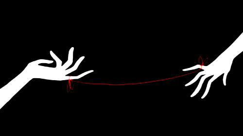 La leyenda del hilo rojo