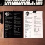 Una sencilla, práctica y minimalista plantilla para preparar nuestro Currículum Vitae