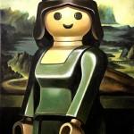 Muñecos de Playmobil convertidos en obras de arte en la pintura de Pierre-Adrien Sollier