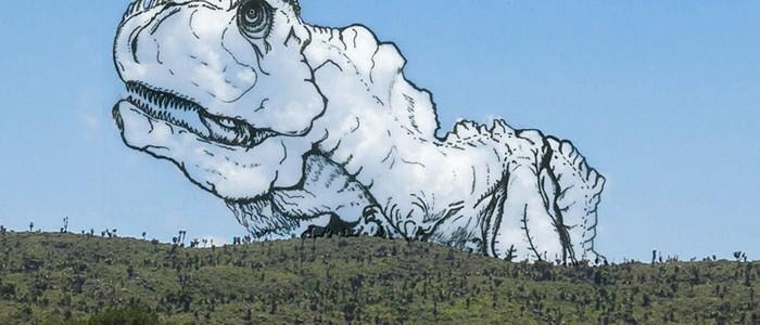 Mira a este artista transformar las nubes en increíbles ilustraciones