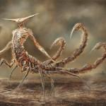 Zodiaco del terror ilustrado de Damon Hellandbrand