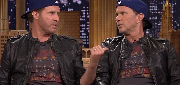 Chad Smith vs Will Ferrel