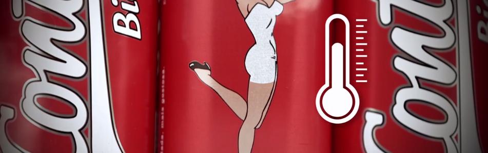 Cerveza con Striptease incluido: CONTI BIER