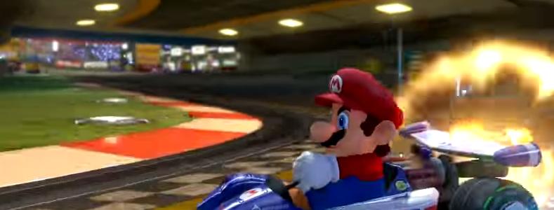 A si se ve Mario Kart 8 200cc