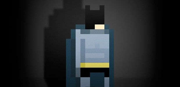 Arte digital de Ercan Akkaya, Superhéroes pixelados