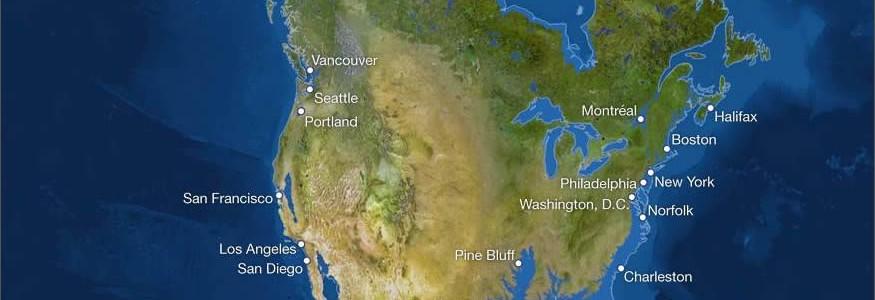 Mira las ciudades que se hundirían si se derriten los polos