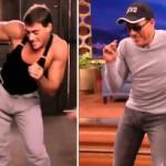 Jean-Claude Van Damme recrea su famoso baile con Conan O´Brien