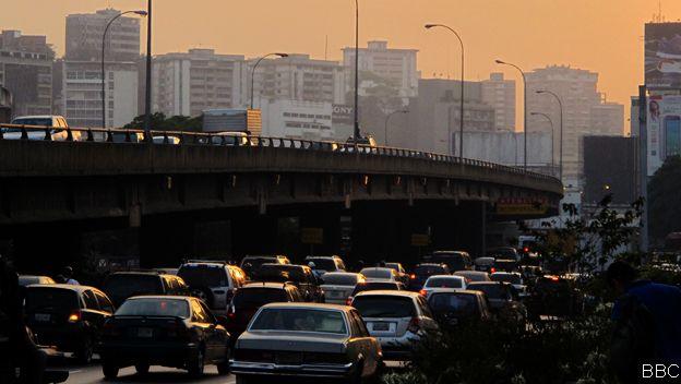 Waze no funciona del todo bien en ciudades como Caracas, donde el internet es insuficiente.