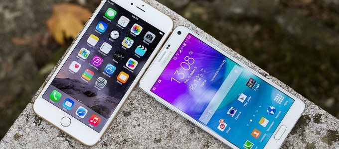 En E.U. Galaxy Note 4 supera en satisfacción al iPhone 6