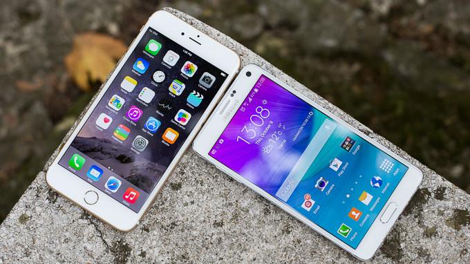 Samsung-Galaxy-Note-4-vs-Apple-iPhone-6-Plus-TI