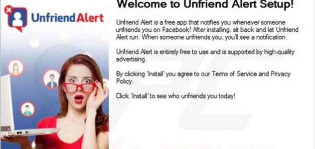 Peligrosa app Facebook Unfriend Alert