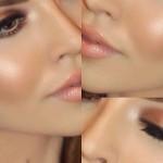 La brillosa tendencia en maquillaje Strobing